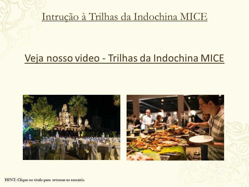Intrução à Trilhas da Indochina MICE