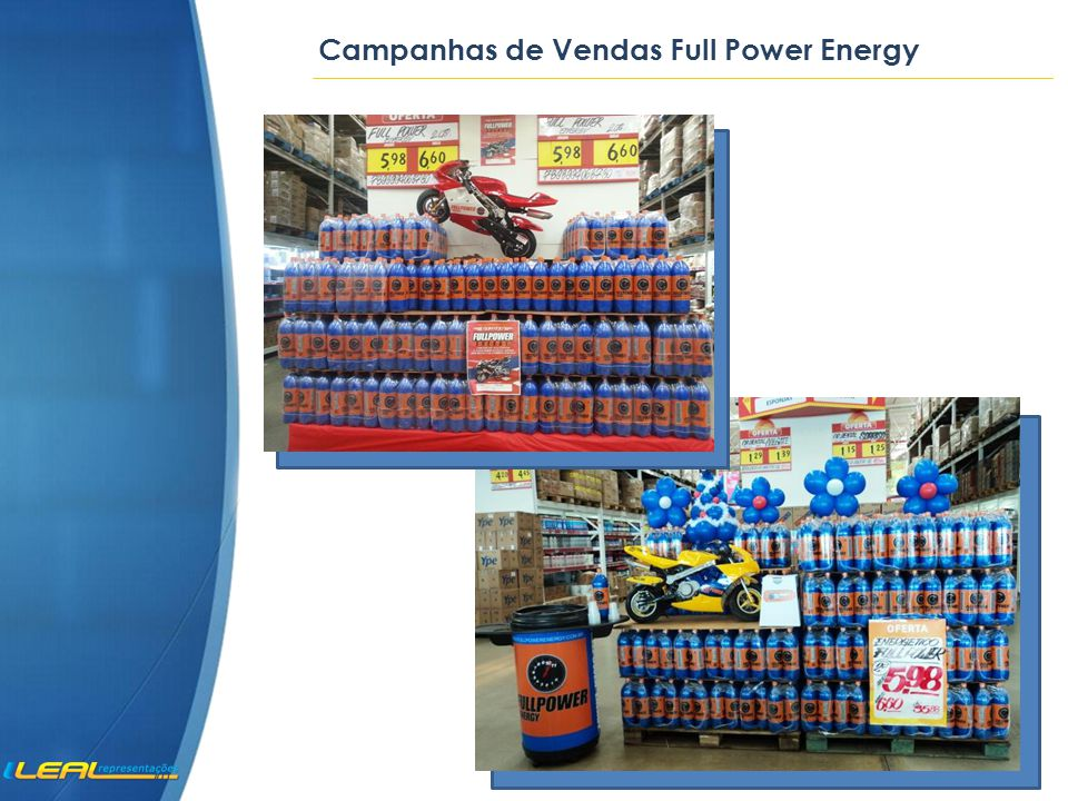 Campanhas de Vendas Full Power Energy