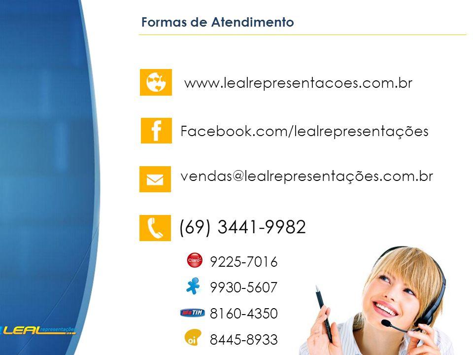 (69) 3441-9982 www.lealrepresentacoes.com.br