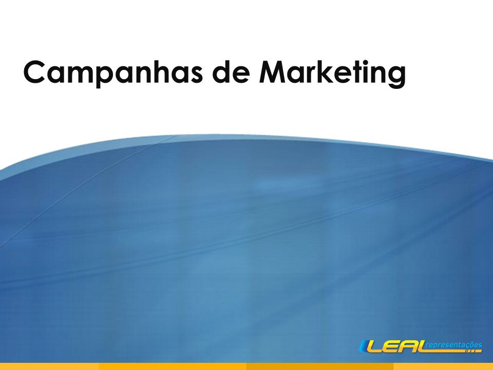 Campanhas de Marketing