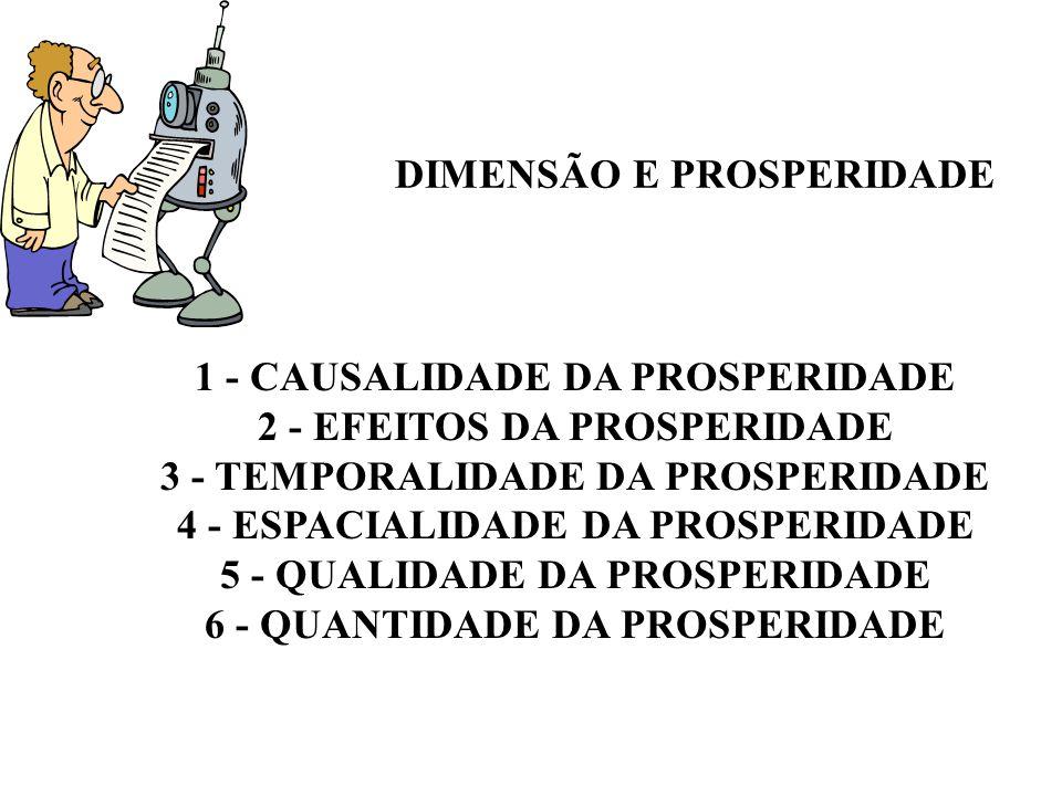 DIMENSÃO E PROSPERIDADE