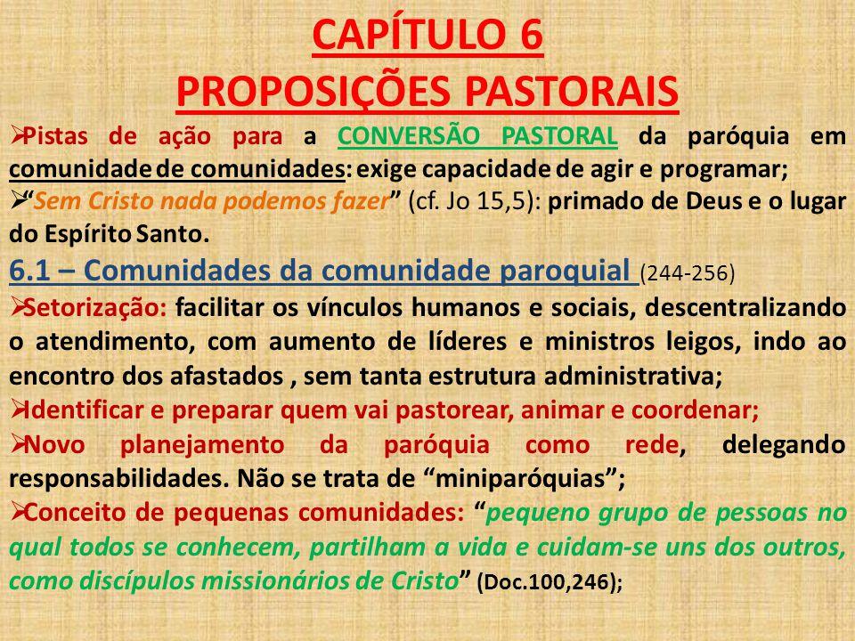 PROPOSIÇÕES PASTORAIS