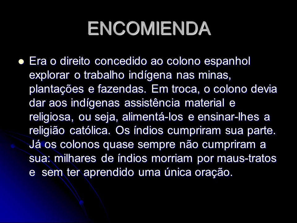 ENCOMIENDA