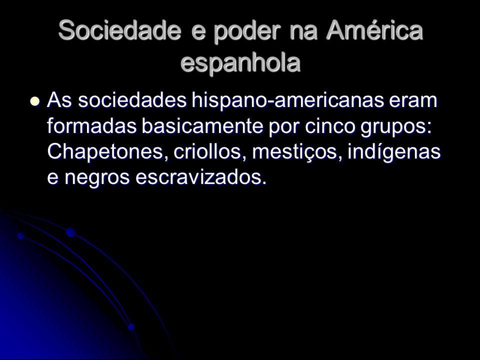 Sociedade e poder na América espanhola
