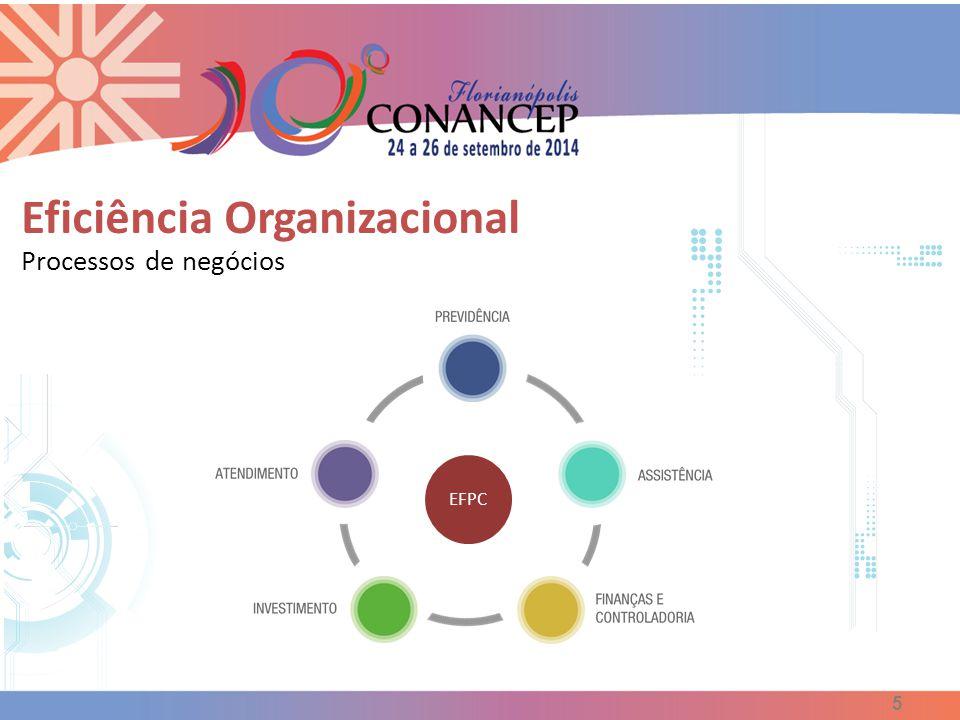 Eficiência Organizacional Processos de negócios