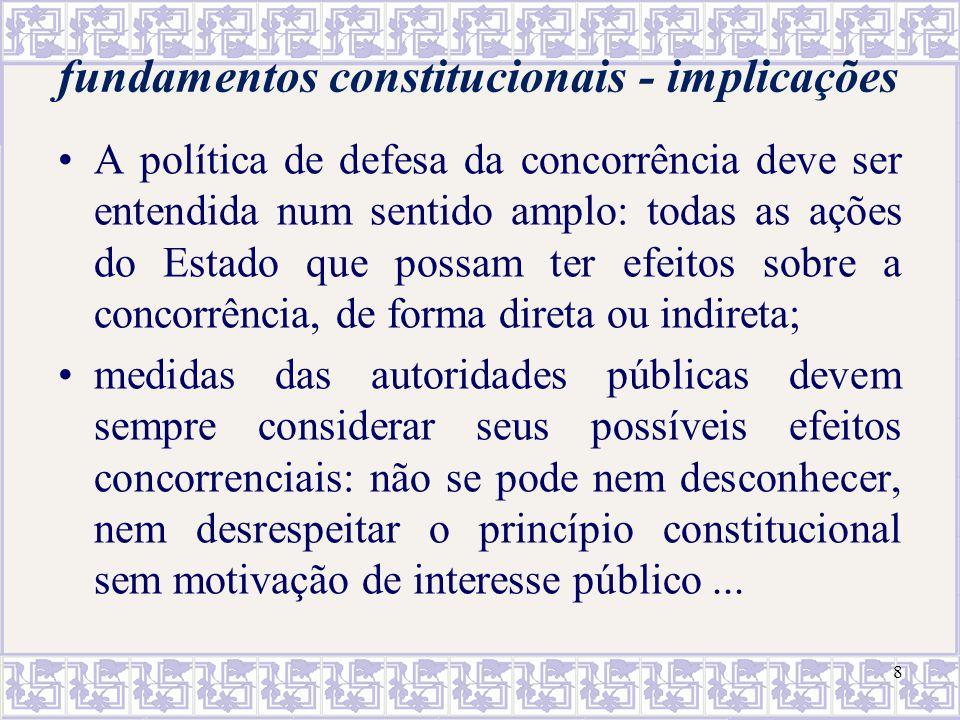 fundamentos constitucionais - implicações