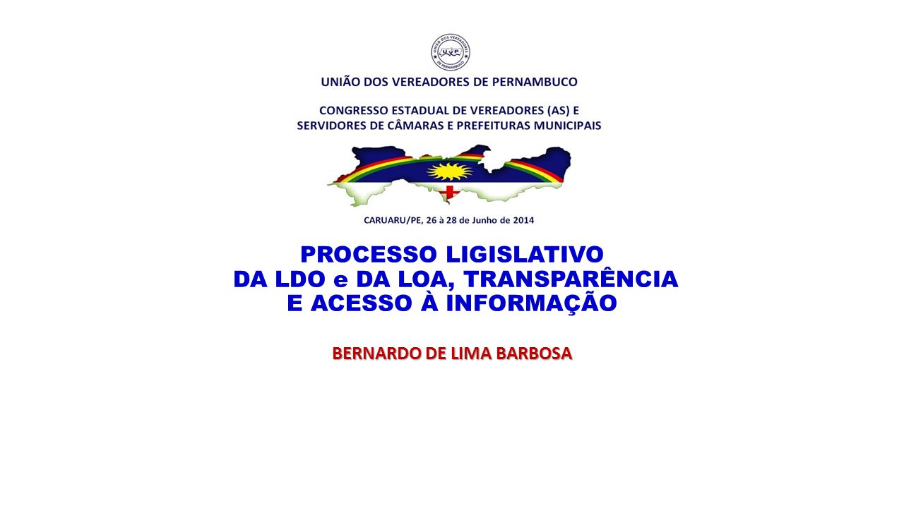 BERNARDO DE LIMA BARBOSA
