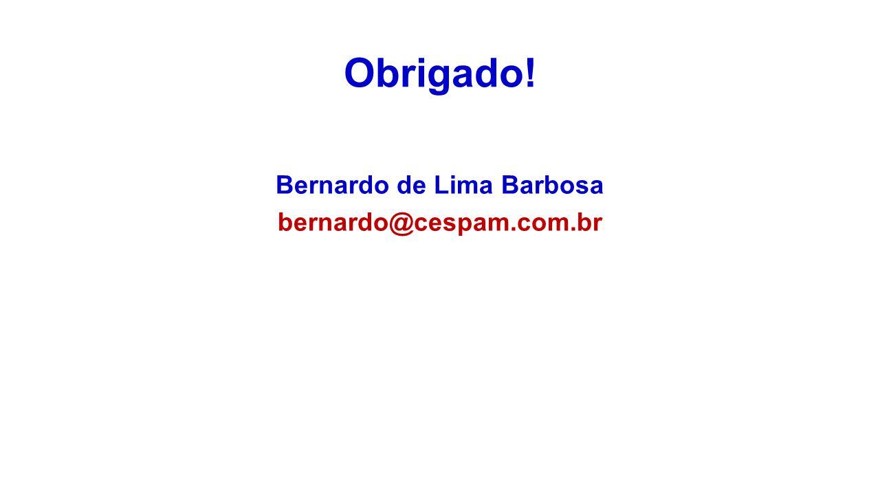 Bernardo de Lima Barbosa bernardo@cespam.com.br