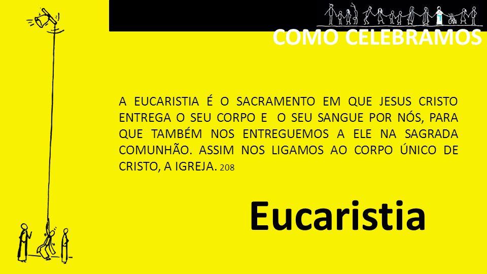 Eucaristia COMO CELEBRAMOS