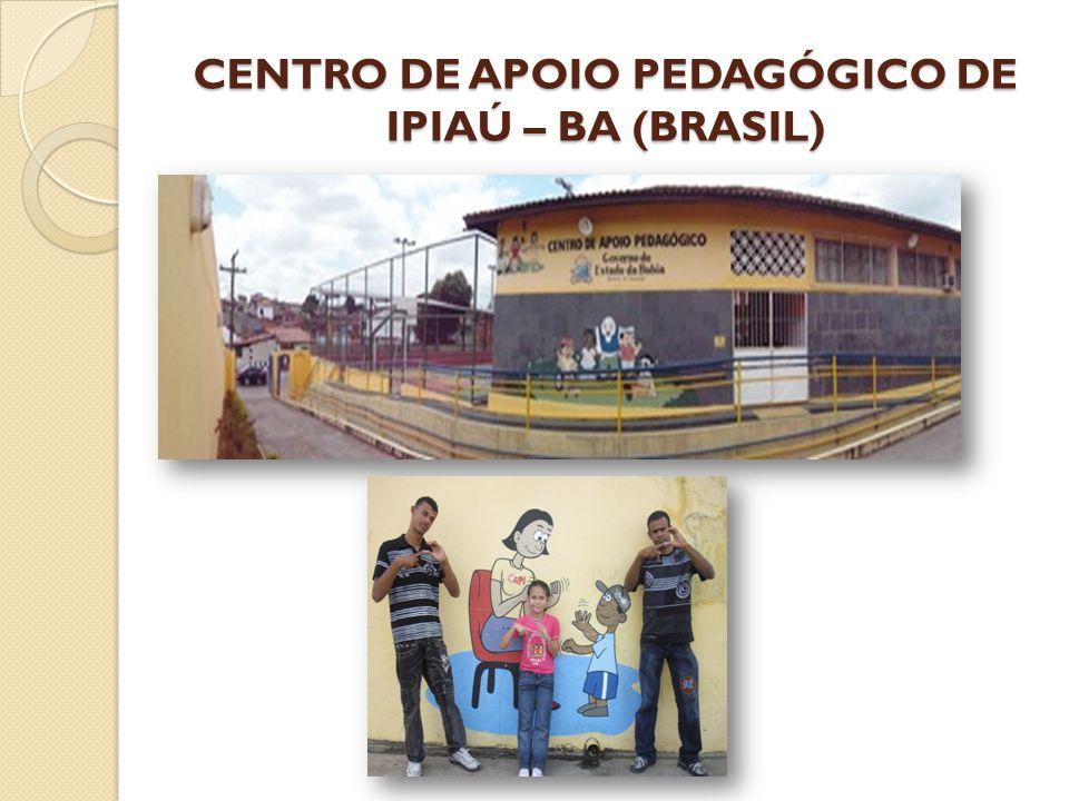 CENTRO DE APOIO PEDAGÓGICO DE IPIAÚ – BA (BRASIL)