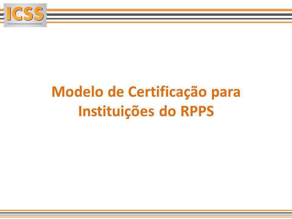 Modelo de Certificação para Instituições do RPPS