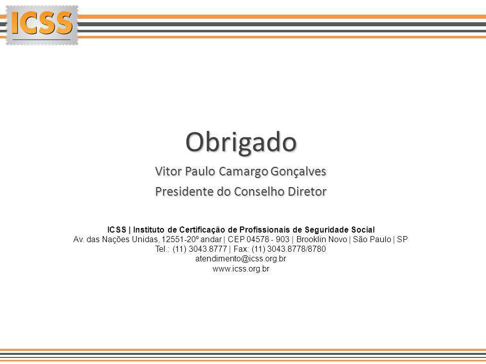 ICSS   Instituto de Certificação de Profissionais de Seguridade Social