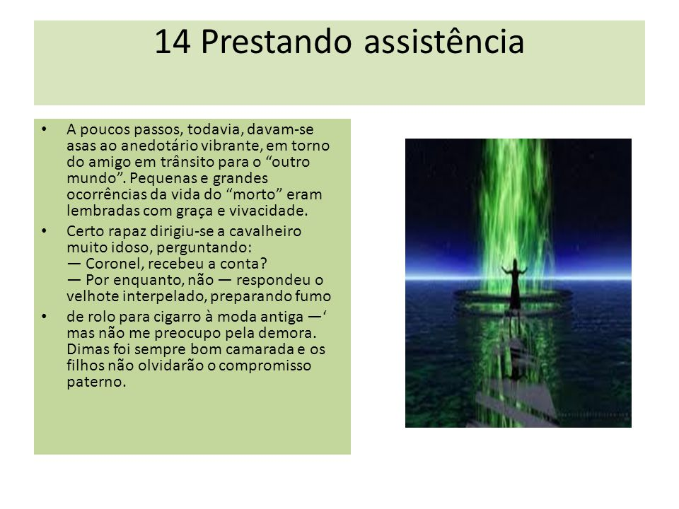 14 Prestando assistência