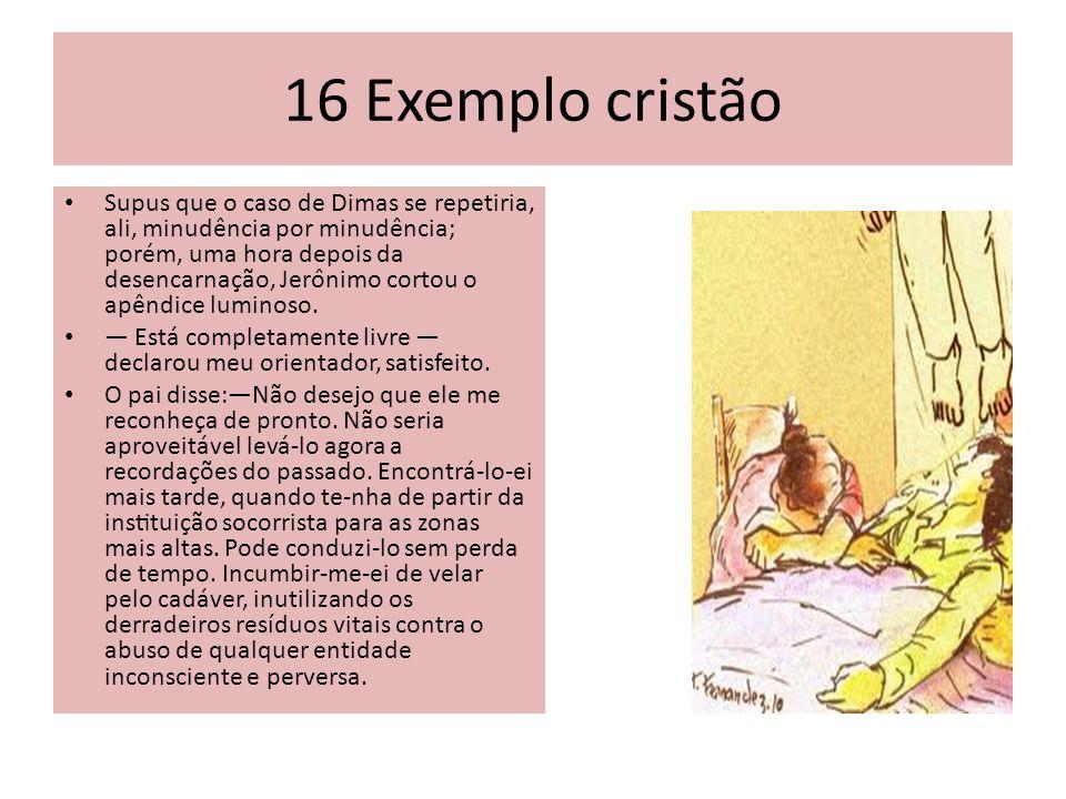 16 Exemplo cristão