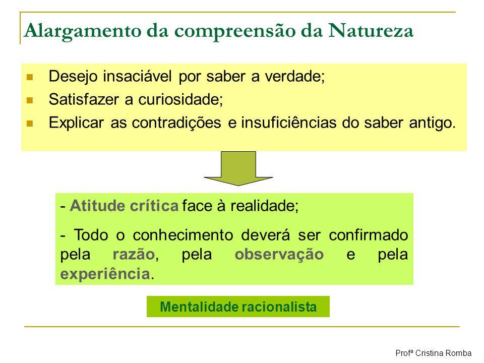 Alargamento da compreensão da Natureza