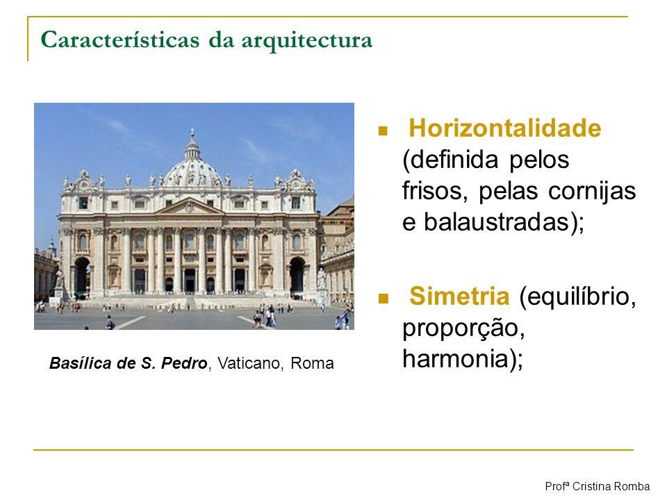 Características da arquitectura