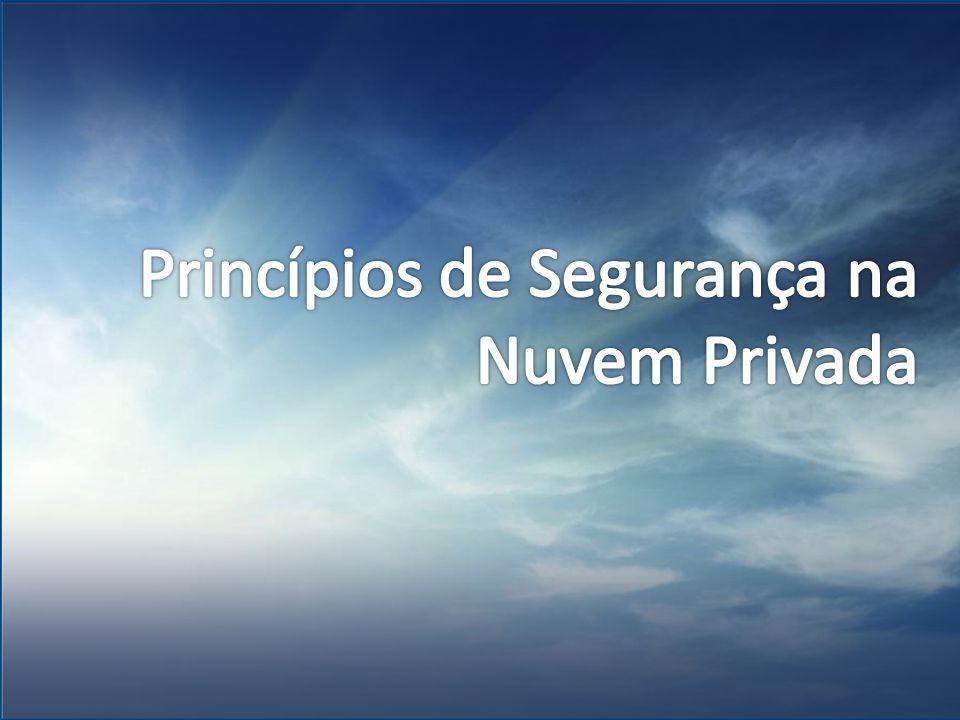 Princípios de Segurança na Nuvem Privada
