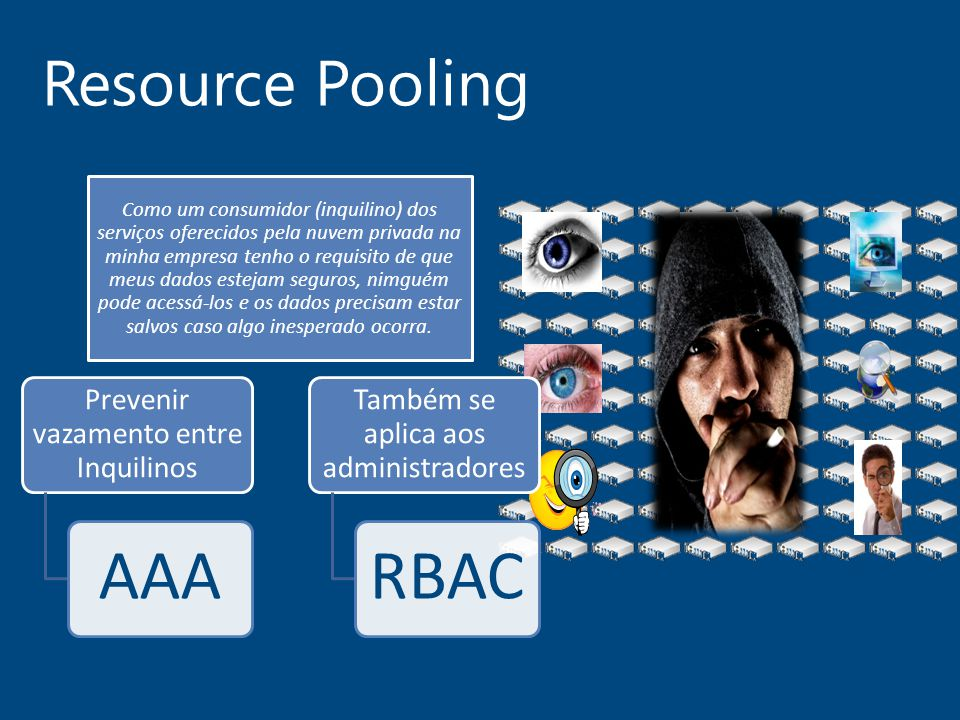 AAA RBAC Resource Pooling Prevenir vazamento entre Inquilinos