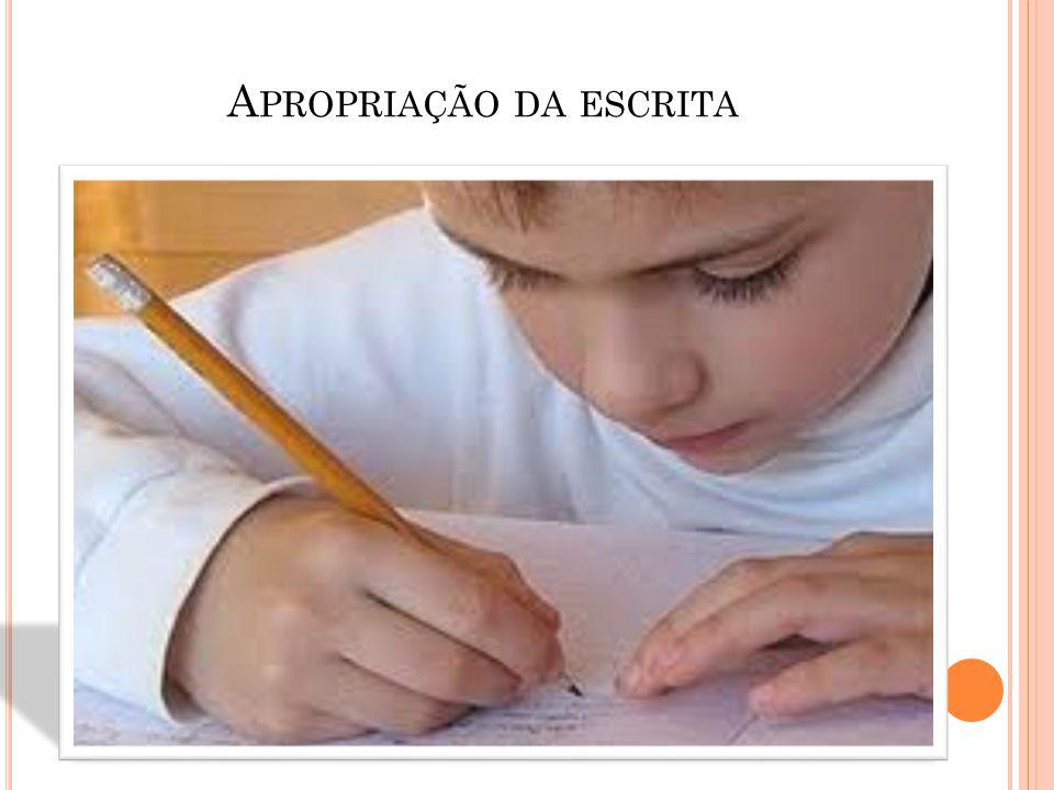 Apropriação da escrita
