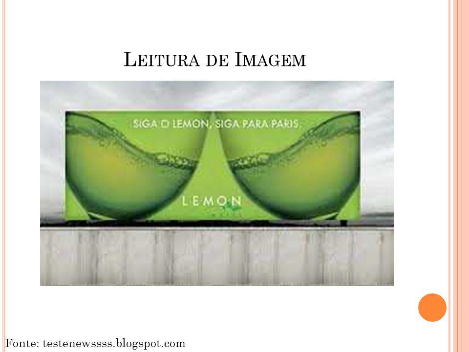 Leitura de Imagem Fonte: testenewssss.blogspot.com