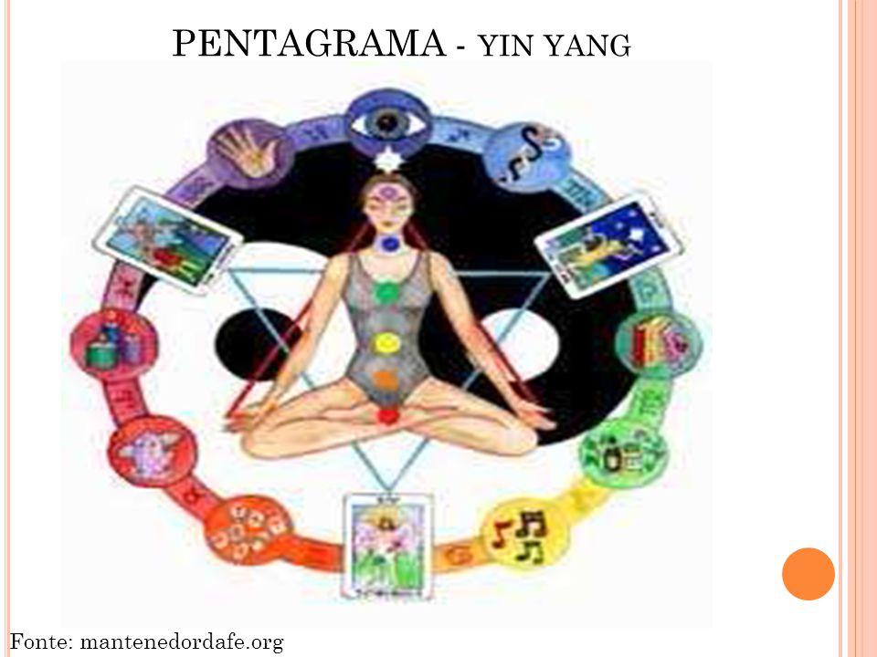 PENTAGRAMA - yin yang Fonte: mantenedordafe.org