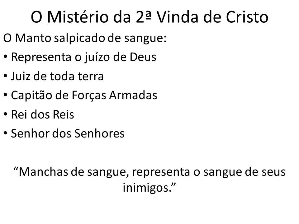 O Mistério da 2ª Vinda de Cristo