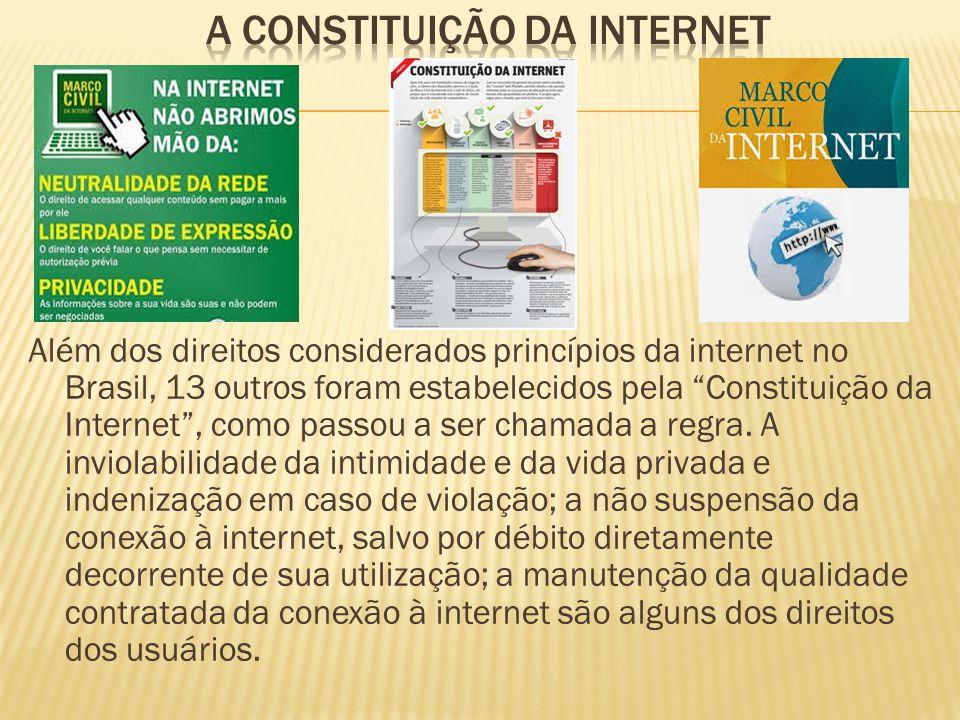 A Constituição da internet
