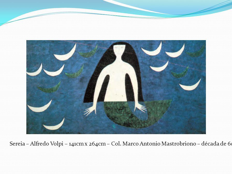 Sereia – Alfredo Volpi – 141cm x 264cm – Col