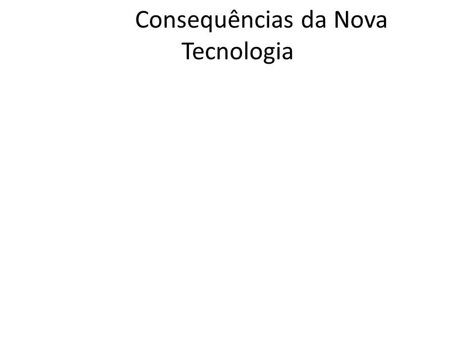 Consequências da Nova Tecnologia