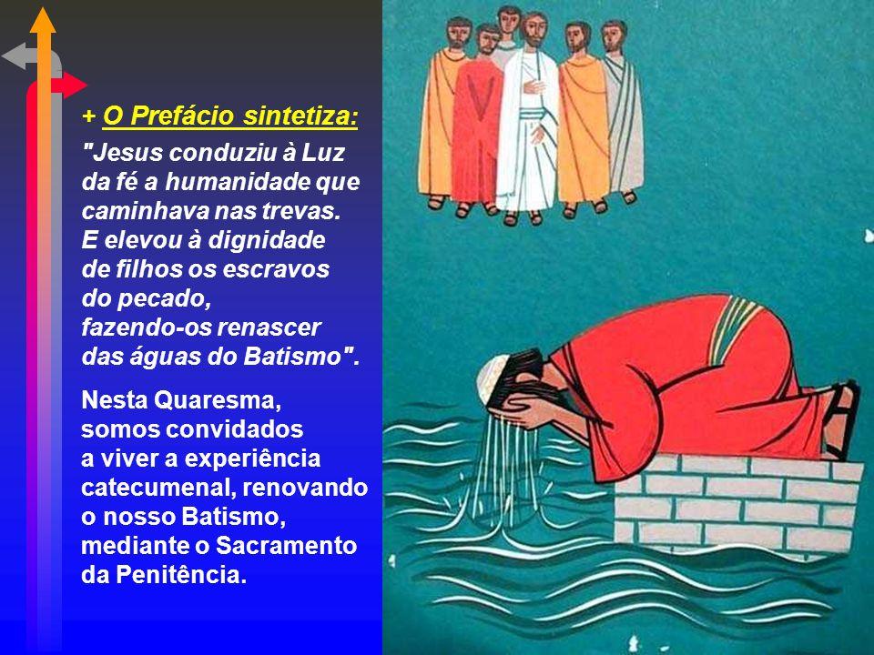 + O Prefácio sintetiza: