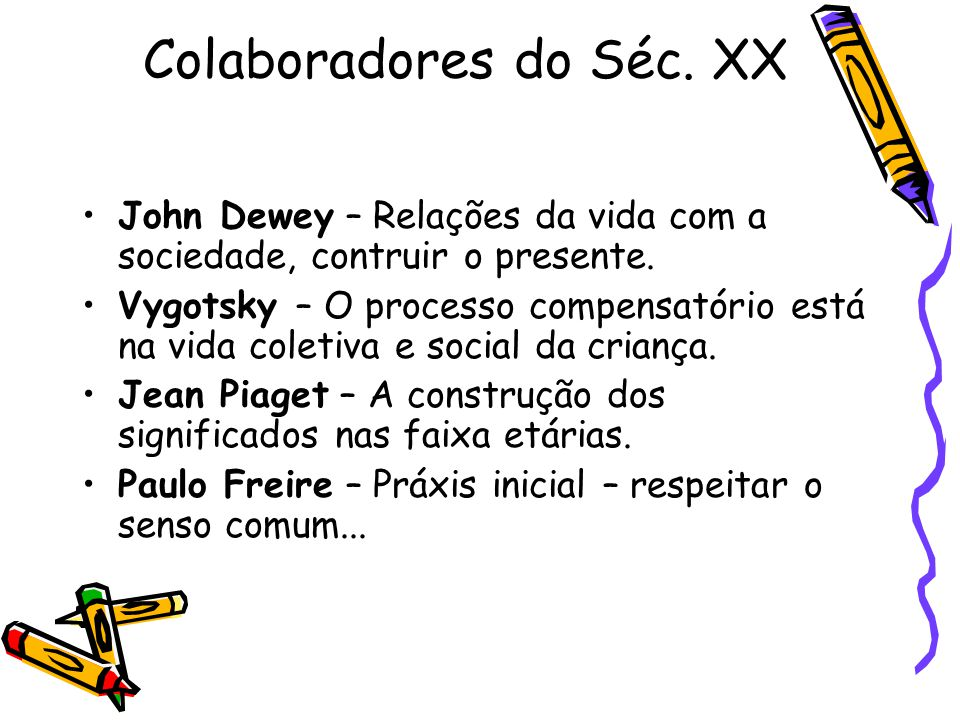 Colaboradores do Séc. XX