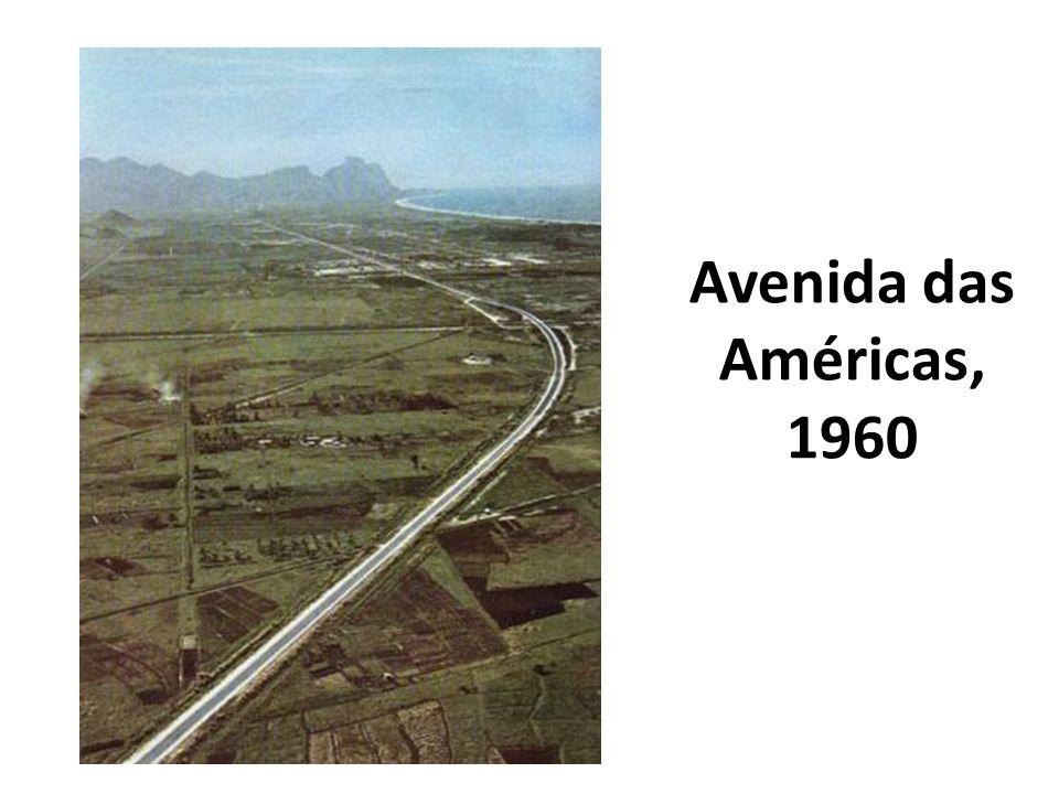 Avenida das Américas, 1960