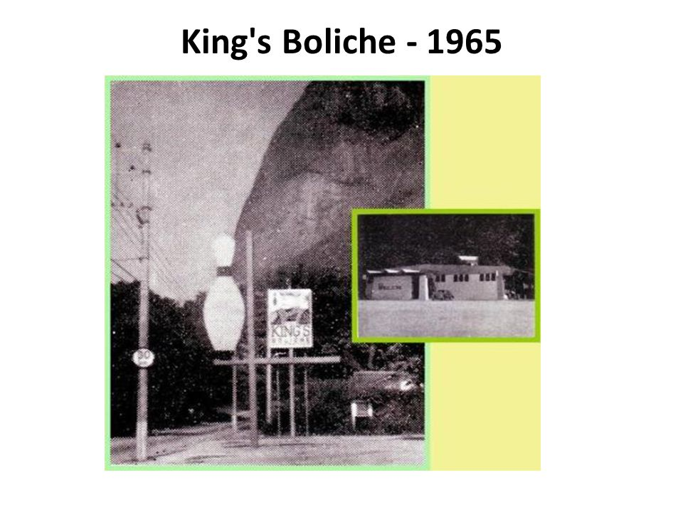 King s Boliche - 1965