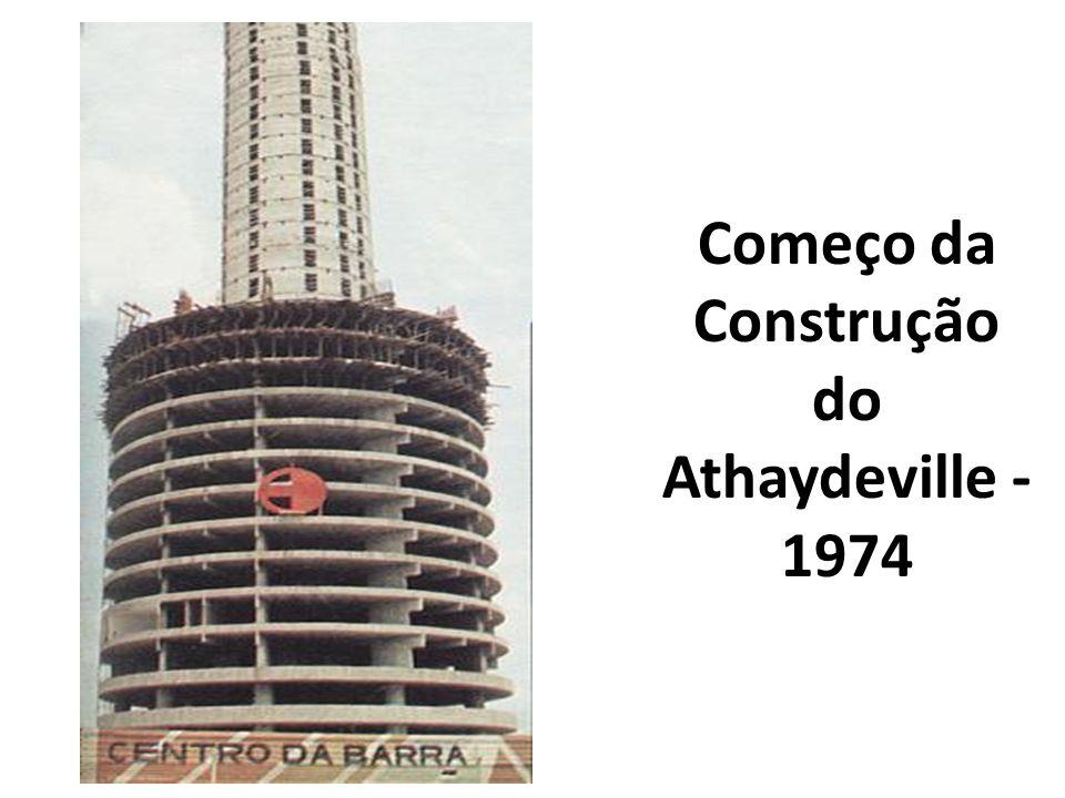 Começo da Construção do Athaydeville - 1974