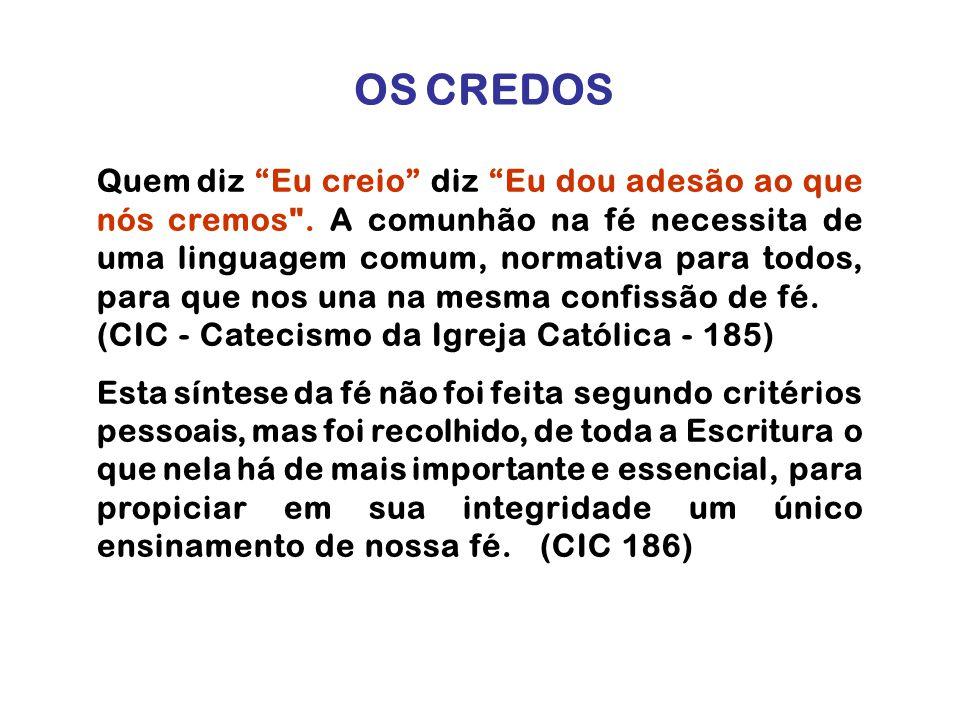 OS CREDOS
