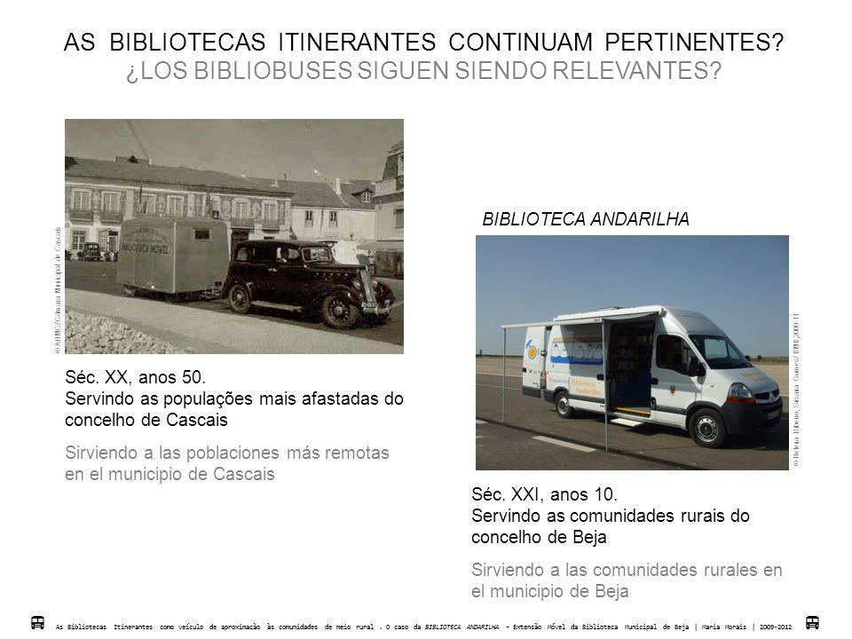 AS BIBLIOTECAS ITINERANTES CONTINUAM PERTINENTES