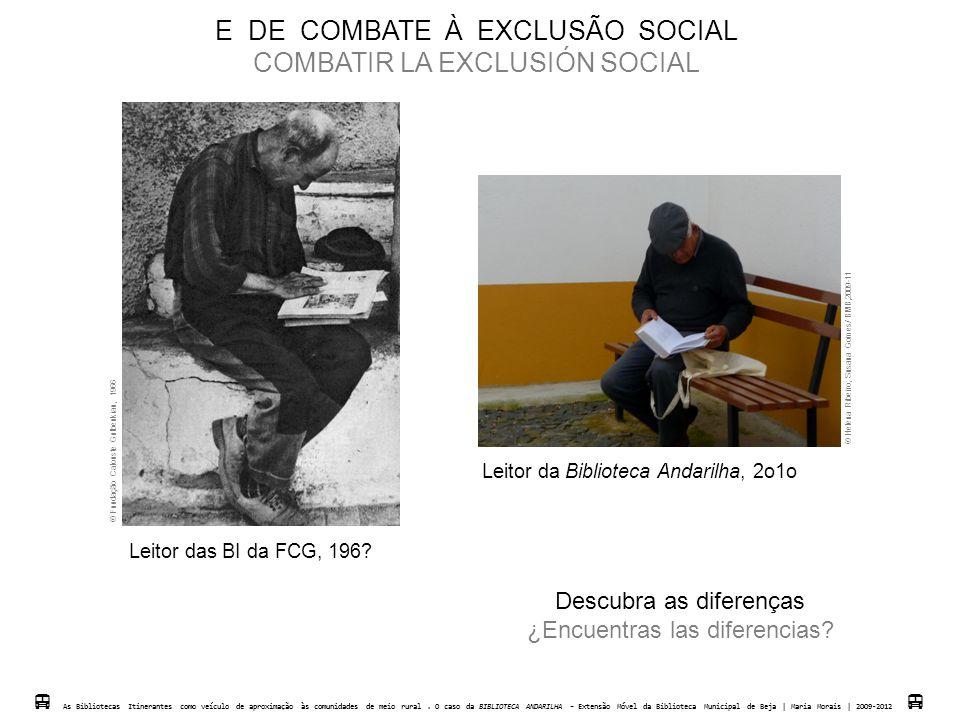 E DE COMBATE À EXCLUSÃO SOCIAL COMBATIR LA EXCLUSIÓN SOCIAL