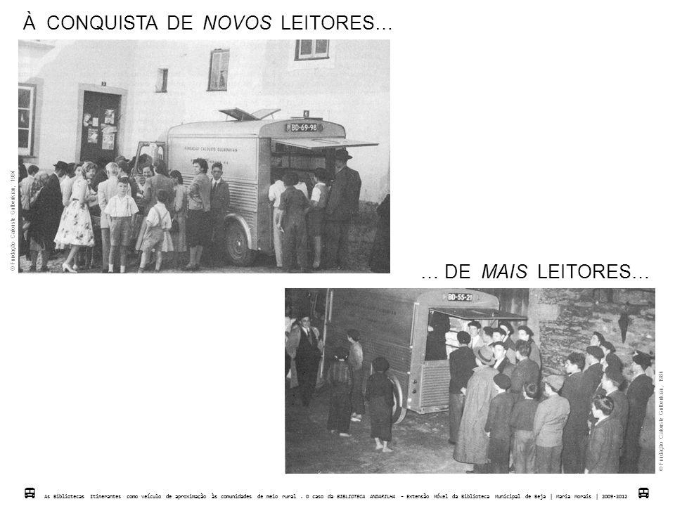 À CONQUISTA DE NOVOS LEITORES…