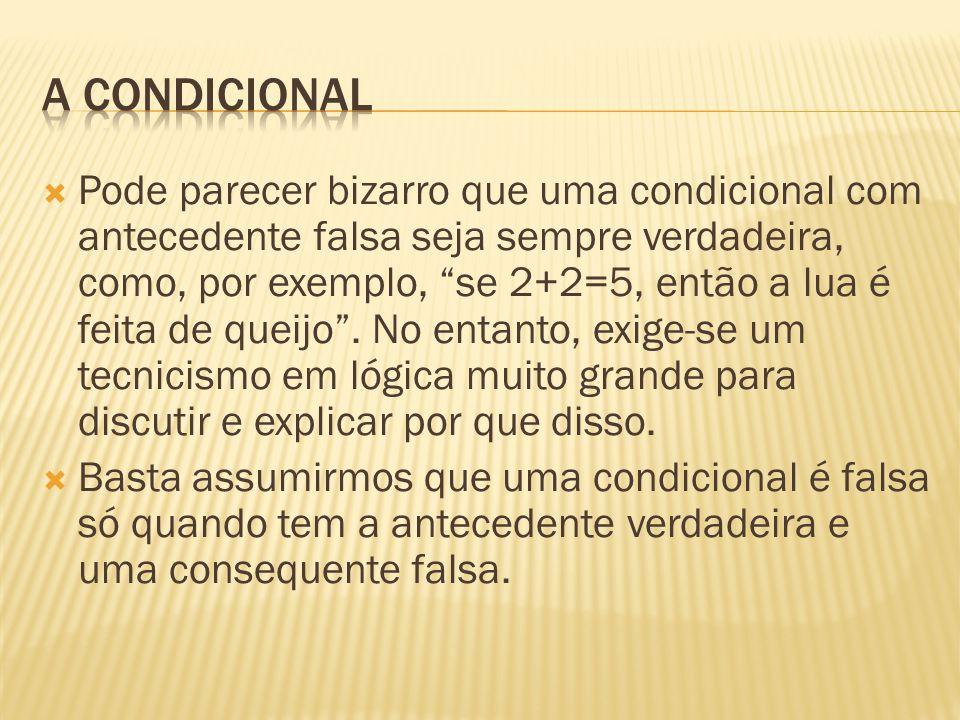 A condicional