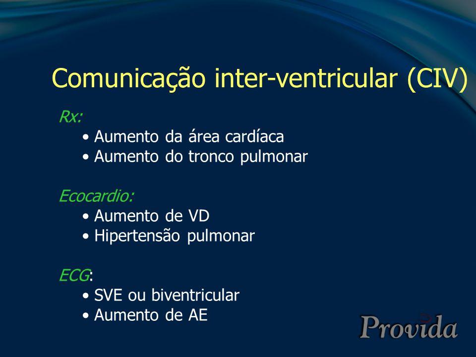 Comunicação inter-ventricular (CIV)