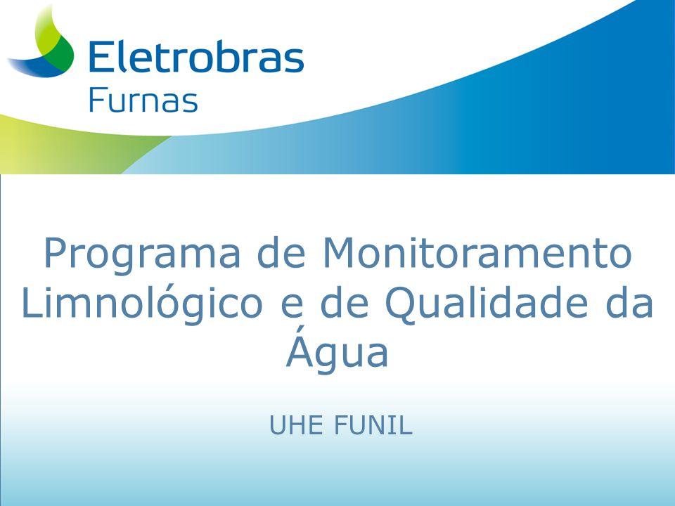 Programa de Monitoramento Limnológico e de Qualidade da Água