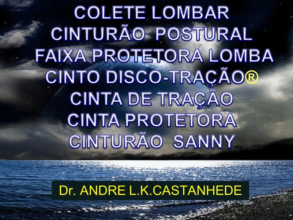 COLETE LOMBAR CINTURÃO POSTURAL FAIXA PROTETORA LOMBA