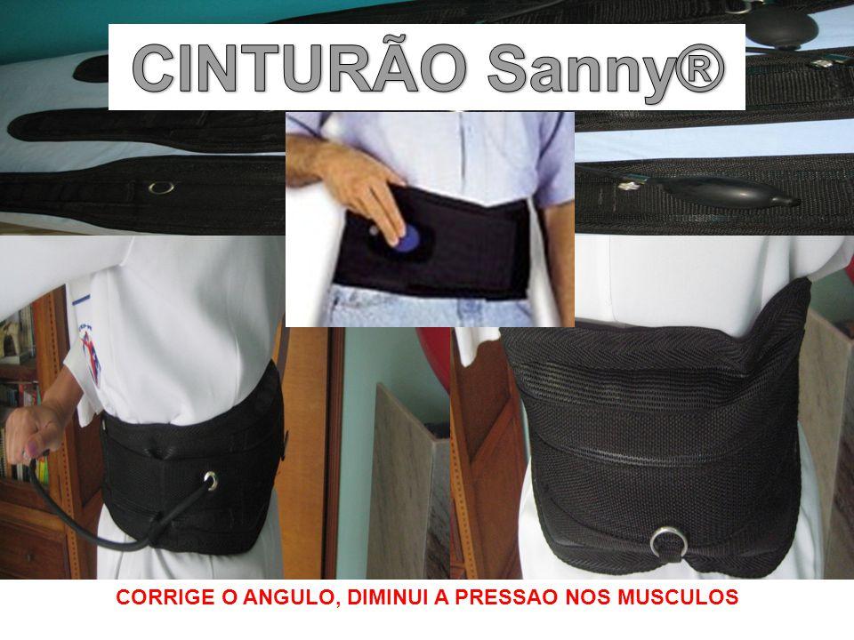 CORRIGE O ANGULO, DIMINUI A PRESSAO NOS MUSCULOS