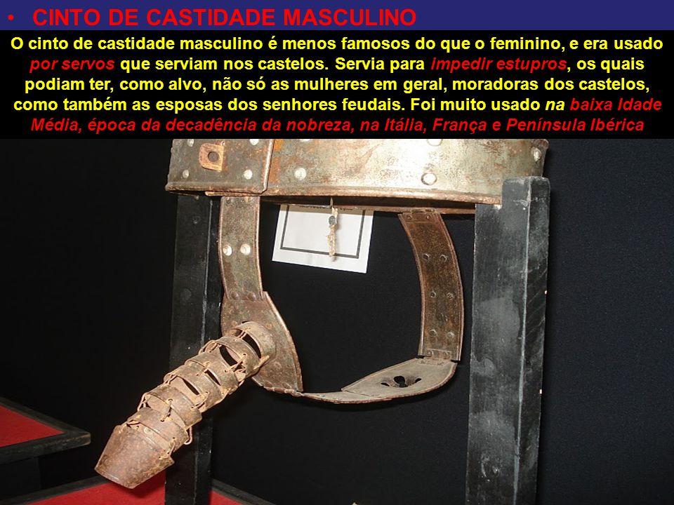 CINTO DE CASTIDADE MASCULINO