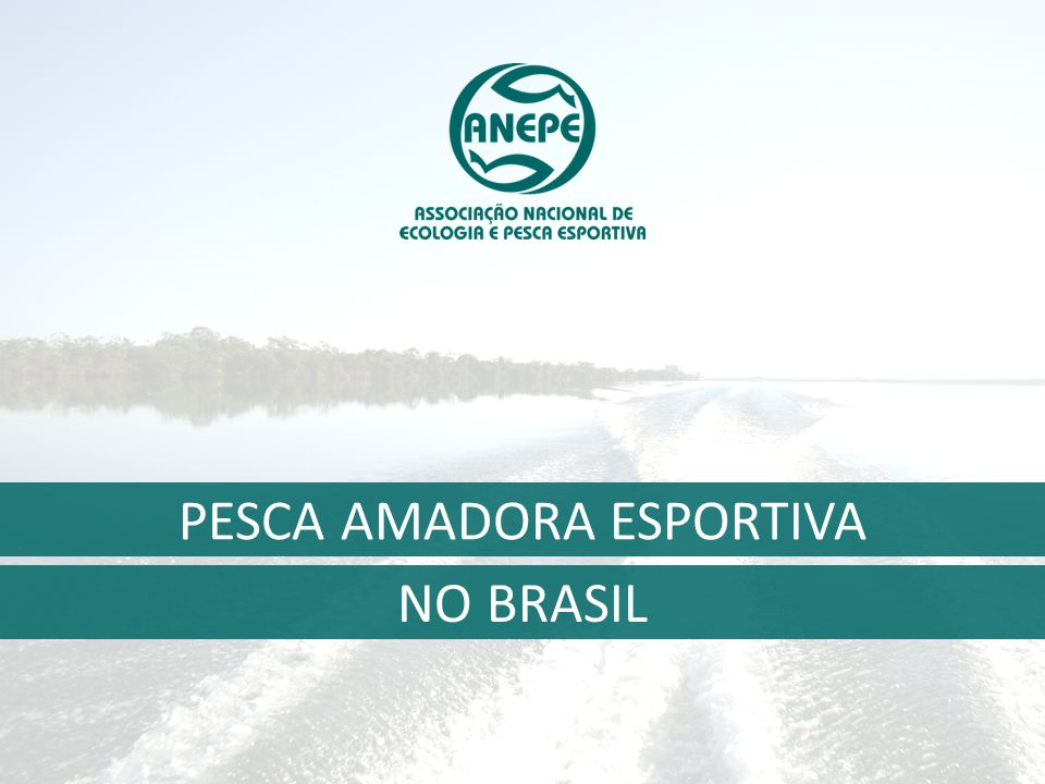 PESCA AMADORA ESPORTIVA