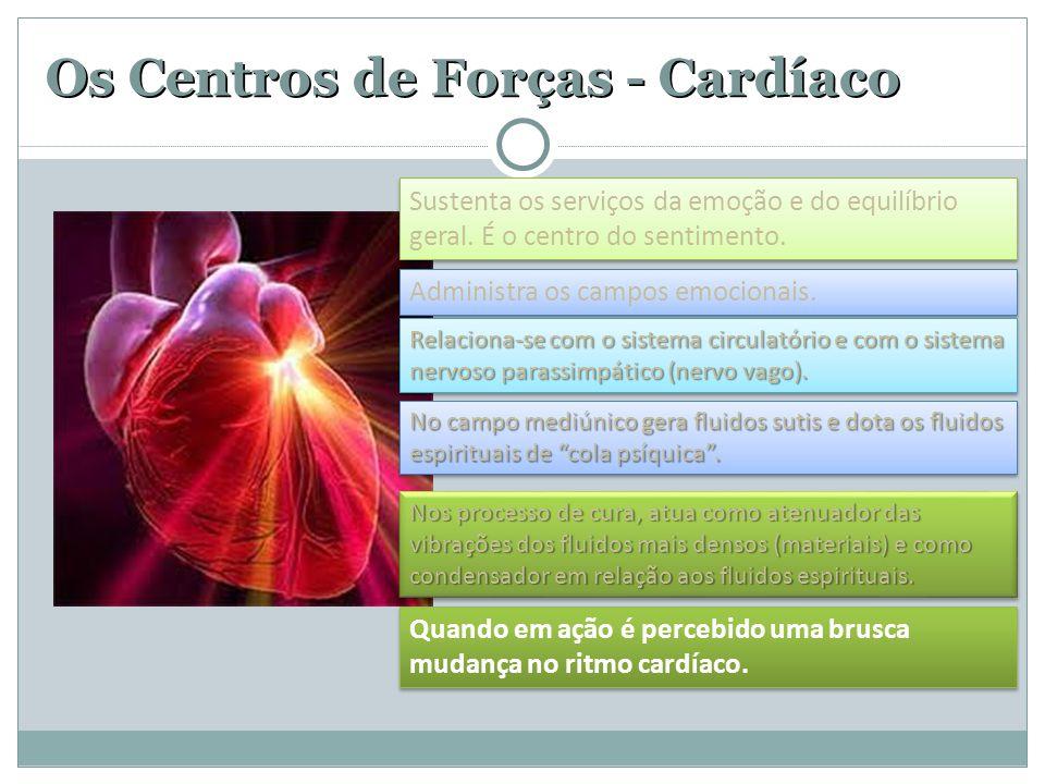 Os Centros de Forças - Cardíaco