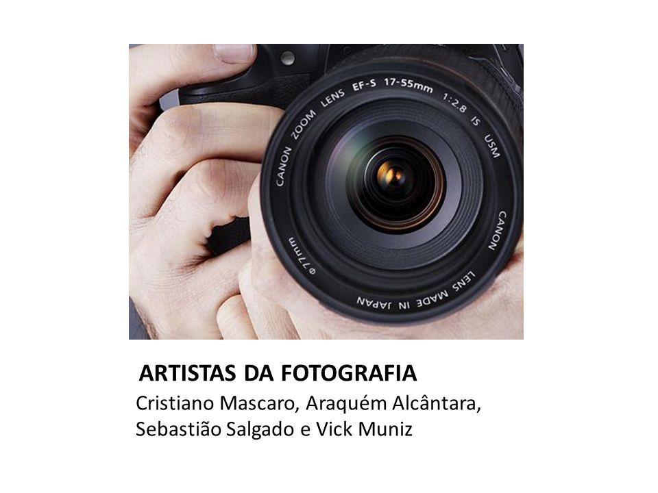 ARTISTAS DA FOTOGRAFIA