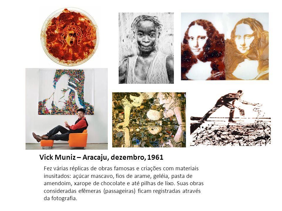 Vick Muniz – Aracaju, dezembro, 1961