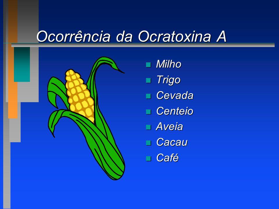 Ocorrência da Ocratoxina A