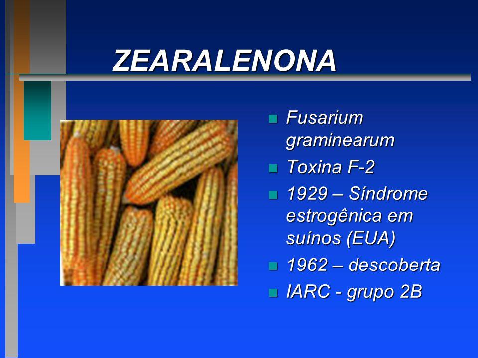 ZEARALENONA Fusarium graminearum Toxina F-2